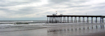 A pier in Ocean City, New Jersey