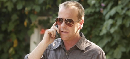 Kiefer Sutherland as Jack Bauer on 24 Season Five